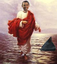 obama-messiah-walks-on-water