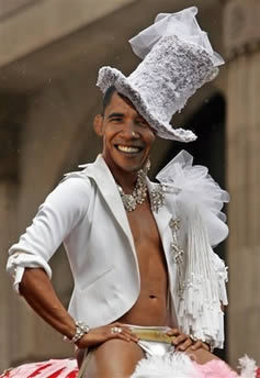 obama is  gay
