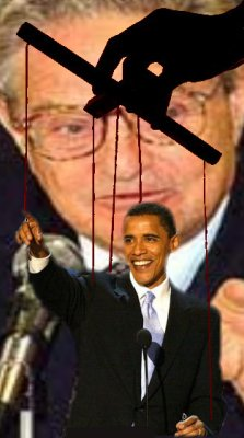 dought obie puppet strings cut soros cops lefy obama hanging