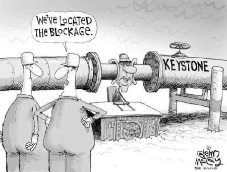 obama keystone blockage