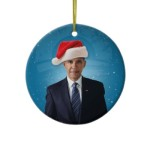 obama on christmas ornament